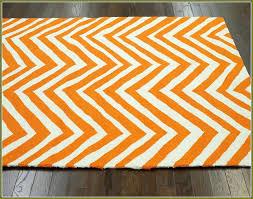orange chevron area rugs and white rug orange chevron area rugs