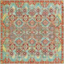 turquoise area rug 5x7 awesome green area rugs rugs the home depot