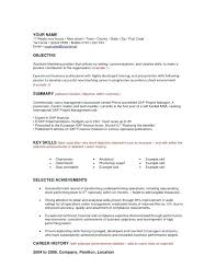 Marketing Resume Objectives Examples Marketing Communication Resume
