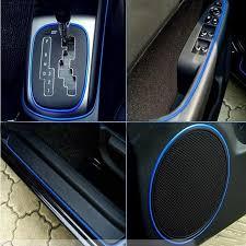 5M Car <b>Moulding Trim</b> PVC Sticker Line Interior <b>Exterior</b> Body ...