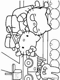 Coloring Pages Hello Kitty Coloring Home