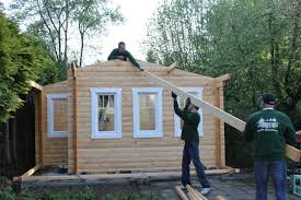 13 Heute Wird Mein Neues Gaidt Gartenhaus Aufgebaut Schritt Für