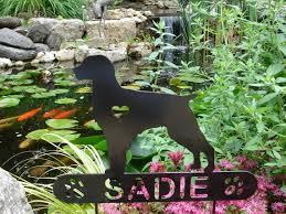 brittany pet memorial garden plaque