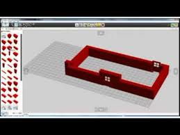 Camera Lego Digital Designer : Lego digital designer making a simple house