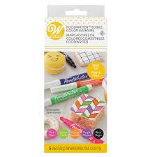 FoodWriter <b>Neon</b> Colored Edible Markers, <b>5</b>-<b>Piece</b>   Wilton