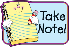 Image result for NOTES clipart free