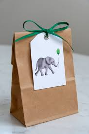 10 printable baby shower favor tags and gift tags! Baby Elephant Gift Tags Faking It Fabulous