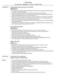 Distinctive Drafting And Design Design Drafter Resume Samples Velvet Jobs