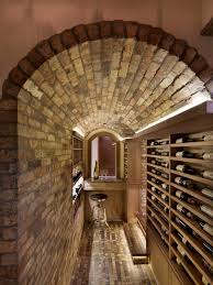 photos hgtv arched table top wine cellar furniture