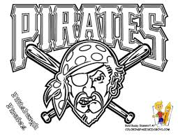 12 Pittsburgh Pirates Baseball Coloring At Pages Book For Kids Boys