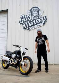 gas monkey garage s dirt track inspired sportster harley