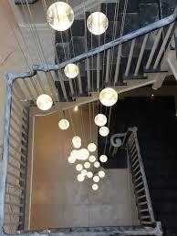 31 light air bubble chandelier