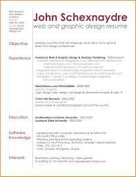 Graphic Design Experience Resume Graphic Designer Resume