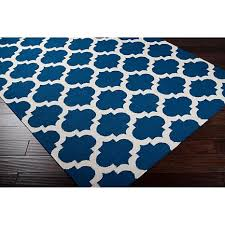 surya frontier royal blue accent rug 239 x 339 7101930 hsn royal blue rugs for bedroom