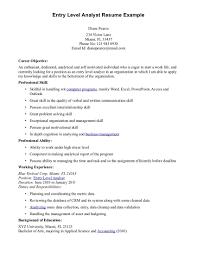 Marketing Entry Level Marketing Resume Samples