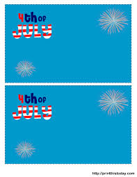 4th of july invitations free printable template 4