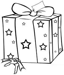 Small Picture Christmas presents coloring pages for kids