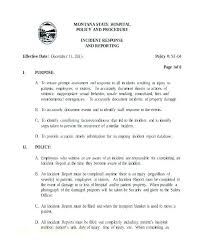 Security Report Writing Template Patrol Example Guard Format