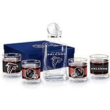 Amazon.com   Atlanta Falcons Decanter and Glasses Barware Gift Set ...