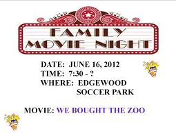 Family Night Flyer Template - Kleo.beachfix.co