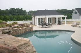 Pool House Design in Annapolis  MD   Custom Pool House   Pool    pool house design in Annapolis  MD