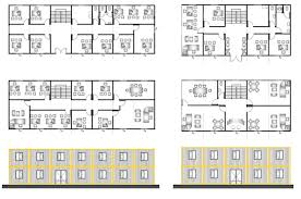 office configurations. Bauhu Modular Flat Pack Building Floorplans Office Configurations I