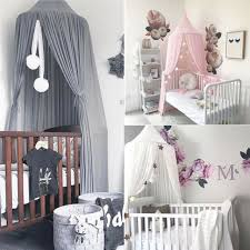 Princess Round Dome Baby Kids Mosquito Net Toddler Bed Crib Canopy Netting Tent