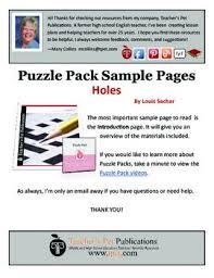holes puzzle pack sler