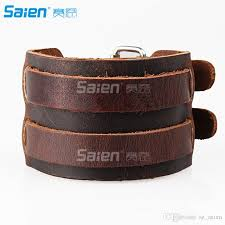 2019 brown wrap bracelets for men and women multi strand wood beads leather wristbands from sz saien 3 01 dhgate com