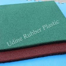 eco safety recycled rubber playground surfacing tiles