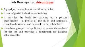 Personnel Management Job Description Personnel Management Job Analysis Job Description