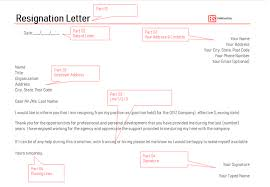 Brief Letter Of Resignation Resignation Letter Format Free Professional Templates