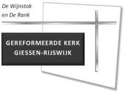 Orgaan Van De Gereformeerde Kerk Giessen Rijswijk