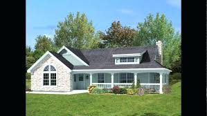 house plans with porches on front and back country house plans front porch awesome one story house plans with porches