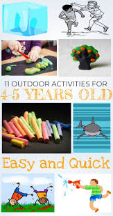11 outdoor activities for 4 5 year olds