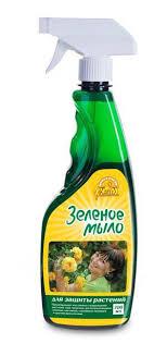 «<b>Зелёное мыло</b>»—для защиты растений от болезней и ...