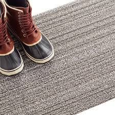 chilewich birch skinny stripe door mat  the container store