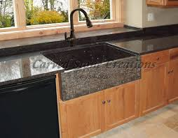 Stone Kitchen Elegant Natural Stone Kitchen Sink Designs