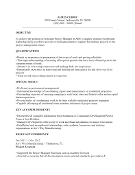 Sample Project Manager Resume Objective Staggering Resume Objective For Project Manager New Stock Of 55