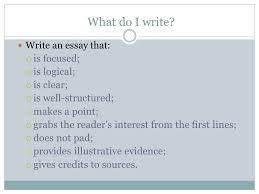 the discursively structured argumentative essay what is  write an essay that  is focused  is