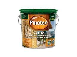 Антисептик <b>Pinotex Ultra</b> 2,7 л полуглянцевый купить по цене ...
