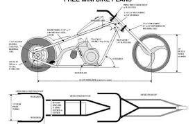 mini chopper frame plans street source the ultimate custom