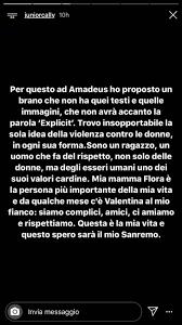 Sanremo 2020: Junior Cally risponde alle accuse sui testi ...