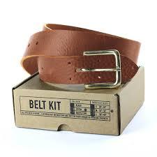 john hagger tanner bates leather belt craft kit