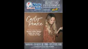 Country Musics Carly Pearce To Headline 2019 Up State Fair