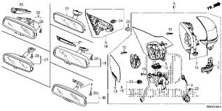 honda accord side mirror wiring diagram honda honda online store 2013 accord mirror 2 parts on honda accord side mirror wiring diagram