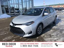 New 2018 Toyota Corolla 4 Door Car in Red Deer, AB J2033