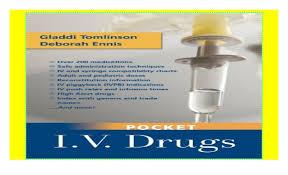 Iv Compatibility Chart Pdf Pocket I V Drugs 2018 Pdf