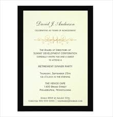 Retirement Invitations Free Free Retirement Party Invitation Templates For Word