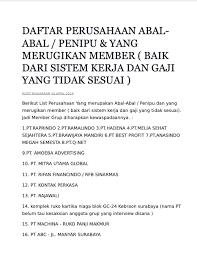 Lihat review dan informasi gaji perusahaan di indonesia yang ditulis oleh staff dan mantan staff. Gaji Pt Khong Guan Bekerja Di Badan Pbb Bisa Dapat Gaji Rp 690 Juta Info Gaji Karyawan Pt Technical South East Asia
